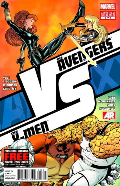 AvX vs. #3 comic books - cover scans photos AvX vs. #3 comic books - covers, picture gallery