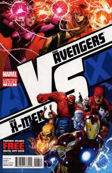 AvX vs. #6 comic books for sale