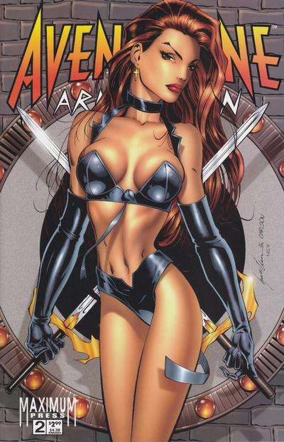 Avengelyne: Armageddon #2 comic books for sale