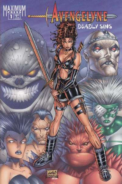 Avengelyne: Deadly Sins #1 comic books for sale