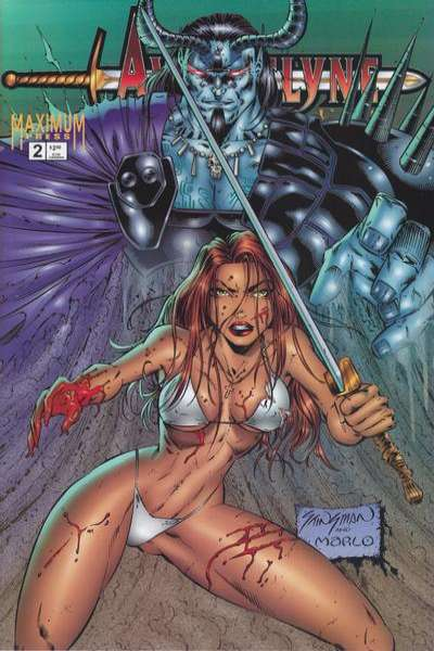 Avengelyne/Power #2 comic books for sale