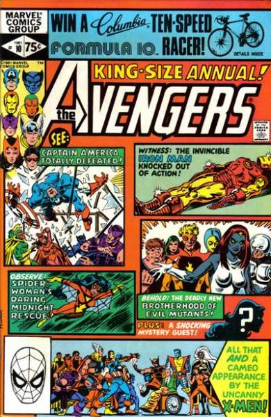 Avengers #10 comic books - cover scans photos Avengers #10 comic books - covers, picture gallery