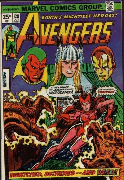 Avengers #128 comic books - cover scans photos Avengers #128 comic books - covers, picture gallery
