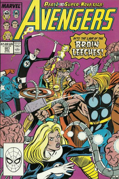 Avengers #301 Comic Books - Covers, Scans, Photos  in Avengers Comic Books - Covers, Scans, Gallery