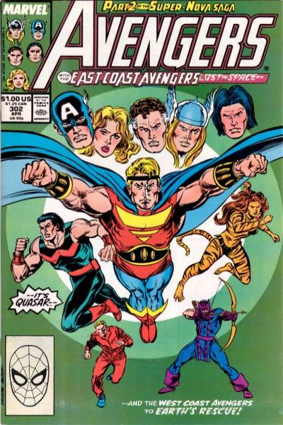 Avengers #302 comic books - cover scans photos Avengers #302 comic books - covers, picture gallery