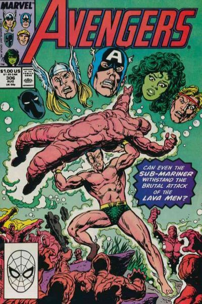 Avengers #306 comic books - cover scans photos Avengers #306 comic books - covers, picture gallery