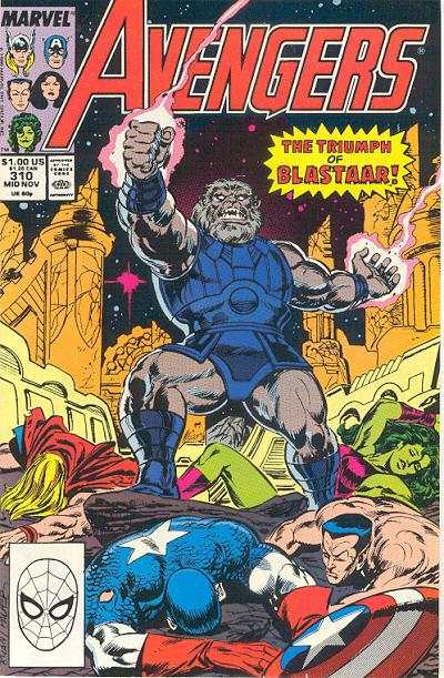 Avengers #310 Comic Books - Covers, Scans, Photos  in Avengers Comic Books - Covers, Scans, Gallery