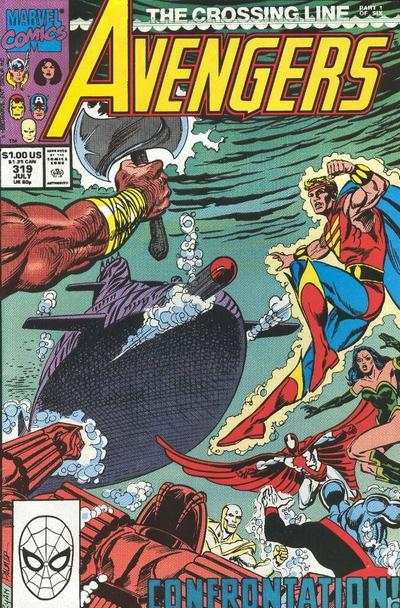 Avengers #319 Comic Books - Covers, Scans, Photos  in Avengers Comic Books - Covers, Scans, Gallery
