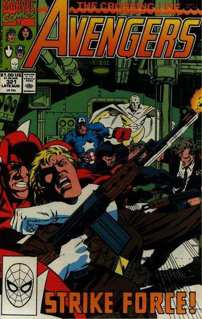 Avengers #321 Comic Books - Covers, Scans, Photos  in Avengers Comic Books - Covers, Scans, Gallery