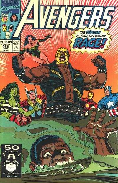 Avengers #328 comic books - cover scans photos Avengers #328 comic books - covers, picture gallery