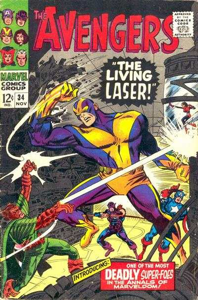 Avengers #34 Comic Books - Covers, Scans, Photos  in Avengers Comic Books - Covers, Scans, Gallery