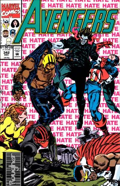 Avengers #342 Comic Books - Covers, Scans, Photos  in Avengers Comic Books - Covers, Scans, Gallery