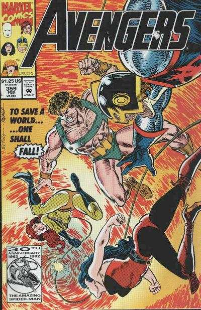 Avengers #359 cheap bargain discounted comic books Avengers #359 comic books