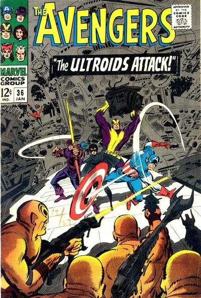Avengers #36 Comic Books - Covers, Scans, Photos  in Avengers Comic Books - Covers, Scans, Gallery