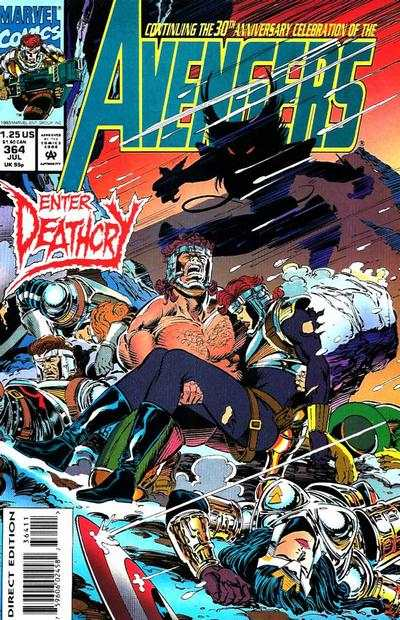 Avengers #364 Comic Books - Covers, Scans, Photos  in Avengers Comic Books - Covers, Scans, Gallery