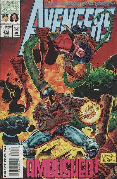 Avengers #372 Comic Books - Covers, Scans, Photos  in Avengers Comic Books - Covers, Scans, Gallery