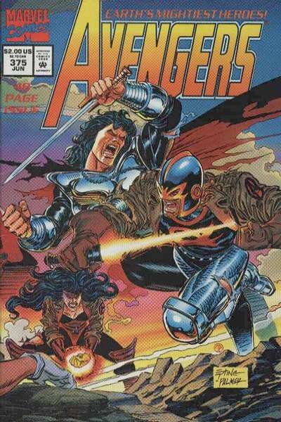 Avengers #375 Comic Books - Covers, Scans, Photos  in Avengers Comic Books - Covers, Scans, Gallery
