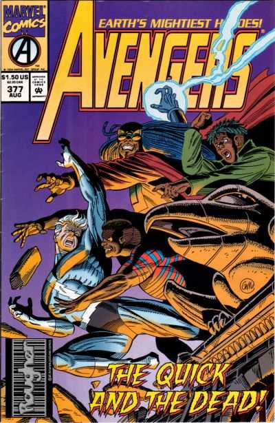 Avengers #377 Comic Books - Covers, Scans, Photos  in Avengers Comic Books - Covers, Scans, Gallery