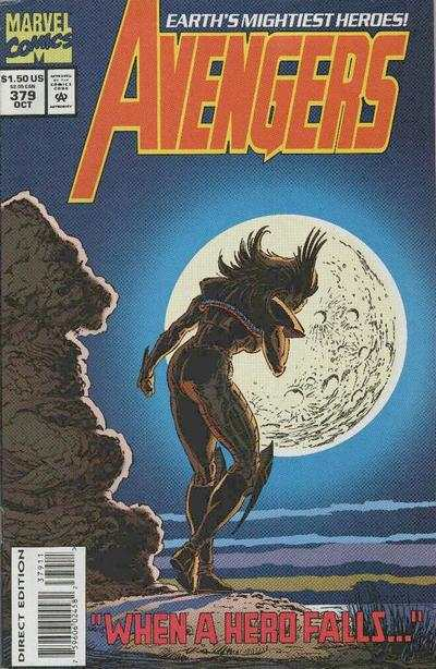 Avengers #379 Comic Books - Covers, Scans, Photos  in Avengers Comic Books - Covers, Scans, Gallery