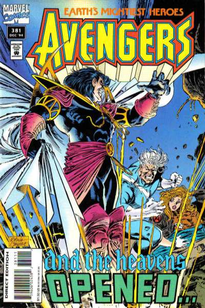 Avengers #381 Comic Books - Covers, Scans, Photos  in Avengers Comic Books - Covers, Scans, Gallery