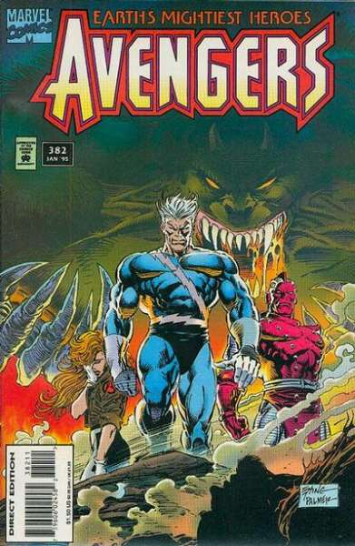 Avengers #382 Comic Books - Covers, Scans, Photos  in Avengers Comic Books - Covers, Scans, Gallery
