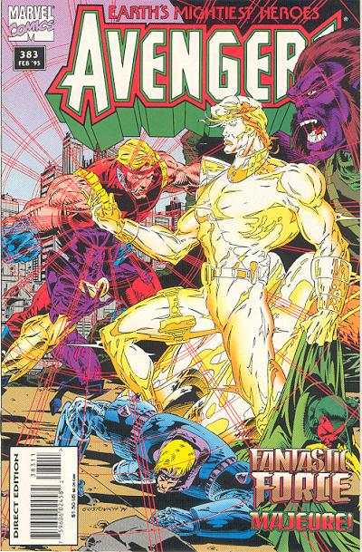 Avengers #383 Comic Books - Covers, Scans, Photos  in Avengers Comic Books - Covers, Scans, Gallery