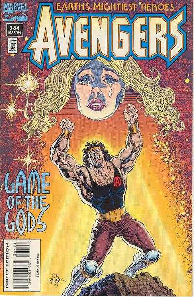 Avengers #384 Comic Books - Covers, Scans, Photos  in Avengers Comic Books - Covers, Scans, Gallery