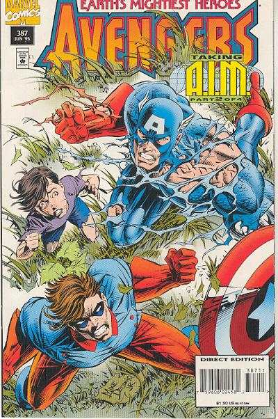 Avengers #387 Comic Books - Covers, Scans, Photos  in Avengers Comic Books - Covers, Scans, Gallery
