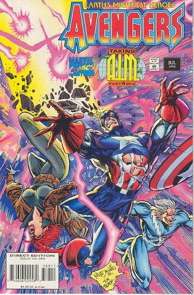 Avengers #388 Comic Books - Covers, Scans, Photos  in Avengers Comic Books - Covers, Scans, Gallery