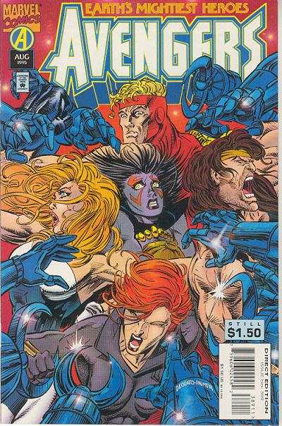 Avengers #389 Comic Books - Covers, Scans, Photos  in Avengers Comic Books - Covers, Scans, Gallery