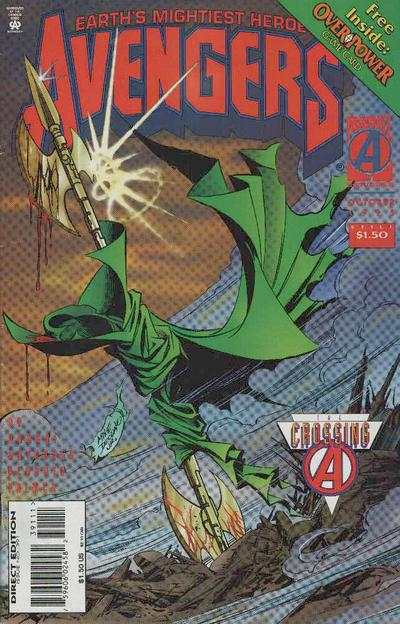 Avengers #391 Comic Books - Covers, Scans, Photos  in Avengers Comic Books - Covers, Scans, Gallery