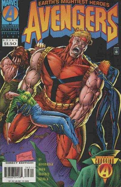 Avengers #393 Comic Books - Covers, Scans, Photos  in Avengers Comic Books - Covers, Scans, Gallery
