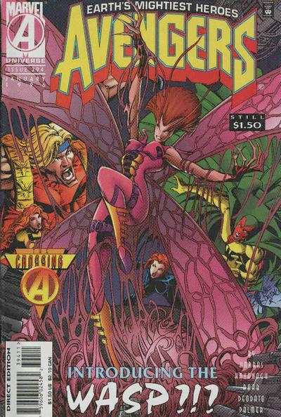 Avengers #394 Comic Books - Covers, Scans, Photos  in Avengers Comic Books - Covers, Scans, Gallery