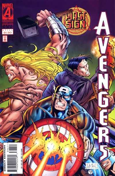 Avengers #396 comic books - cover scans photos Avengers #396 comic books - covers, picture gallery