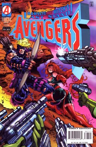 Avengers #397 comic books - cover scans photos Avengers #397 comic books - covers, picture gallery
