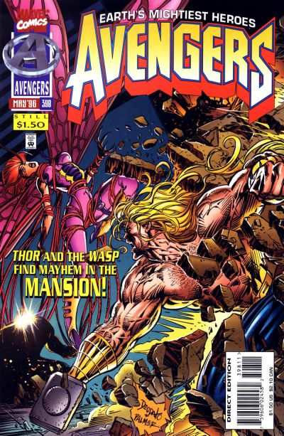 Avengers #398 Comic Books - Covers, Scans, Photos  in Avengers Comic Books - Covers, Scans, Gallery