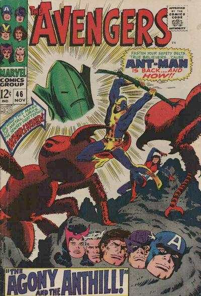 Avengers #46 comic books - cover scans photos Avengers #46 comic books - covers, picture gallery