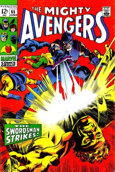 Avengers #65 comic books - cover scans photos Avengers #65 comic books - covers, picture gallery