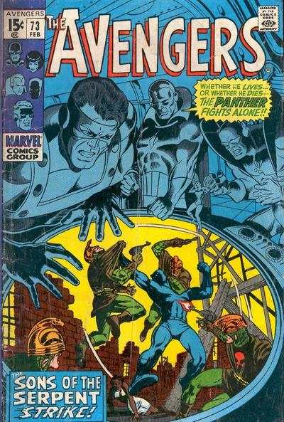 Avengers #73 Comic Books - Covers, Scans, Photos  in Avengers Comic Books - Covers, Scans, Gallery