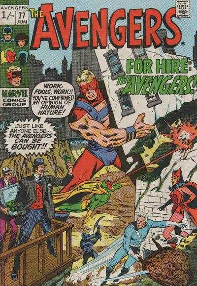 Avengers #77 comic books for sale