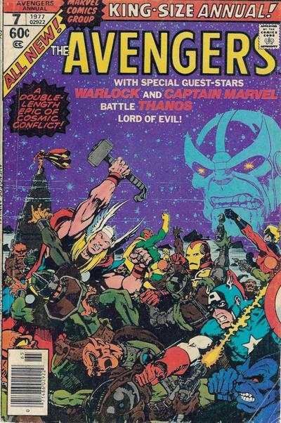 Avengers #7 comic books for sale