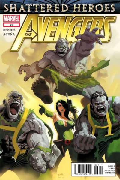 Avengers #20 Comic Books - Covers, Scans, Photos  in Avengers Comic Books - Covers, Scans, Gallery