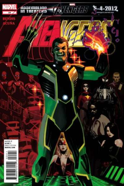 Avengers #24 Comic Books - Covers, Scans, Photos  in Avengers Comic Books - Covers, Scans, Gallery