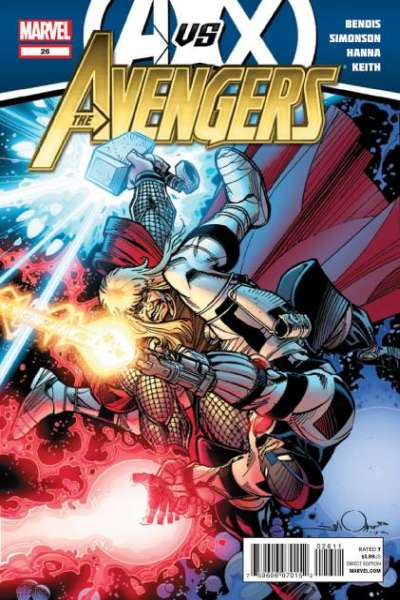Avengers #26 comic books - cover scans photos Avengers #26 comic books - covers, picture gallery