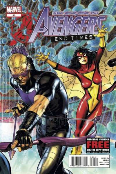Avengers #33 Comic Books - Covers, Scans, Photos  in Avengers Comic Books - Covers, Scans, Gallery