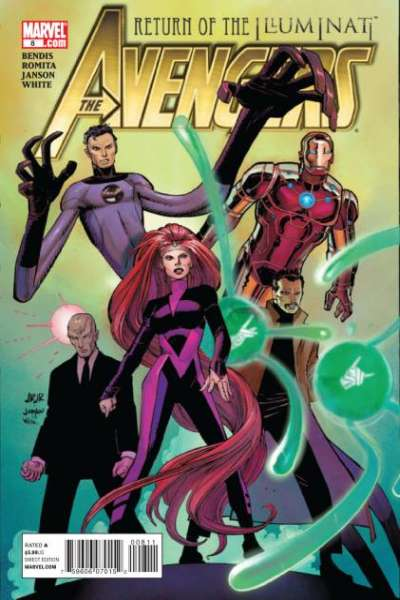 Avengers #8 Comic Books - Covers, Scans, Photos  in Avengers Comic Books - Covers, Scans, Gallery