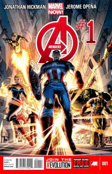 Avengers #1 Comic Books - Covers, Scans, Photos  in Avengers Comic Books - Covers, Scans, Gallery