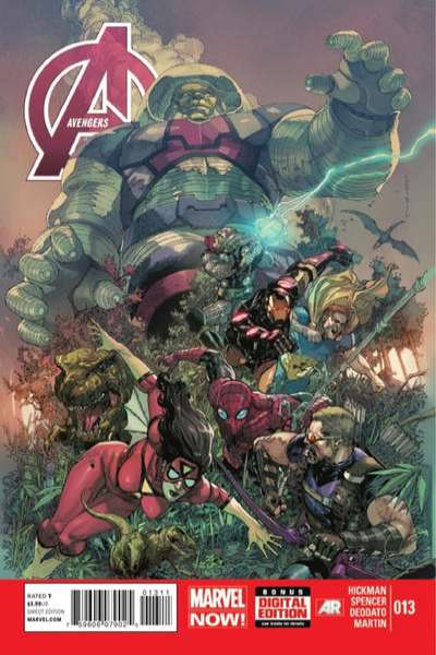 Avengers #13 Comic Books - Covers, Scans, Photos  in Avengers Comic Books - Covers, Scans, Gallery