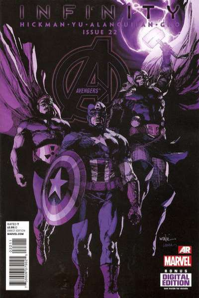 Avengers #22 Comic Books - Covers, Scans, Photos  in Avengers Comic Books - Covers, Scans, Gallery