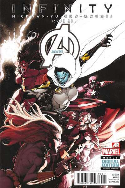 Avengers #23 comic books - cover scans photos Avengers #23 comic books - covers, picture gallery